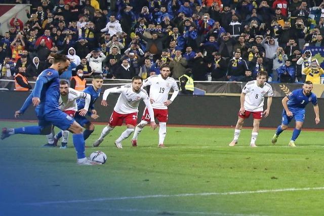 """Kosova mundet në """"Fadil Vokrri"""", 1-2 përballë Gjeorgjisë"""