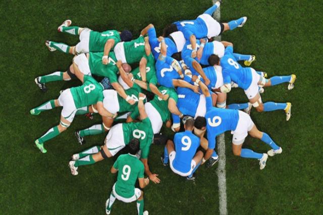 Rugby: Dublini bllokohet, por Irlandë-Itali luhet